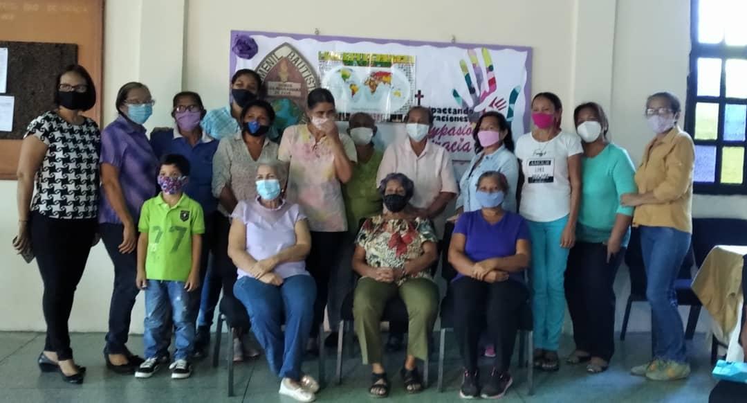 Mujeres Bautistas Venezolanas celebran el Día Mundial de Oración con más de 17 uniones regionales