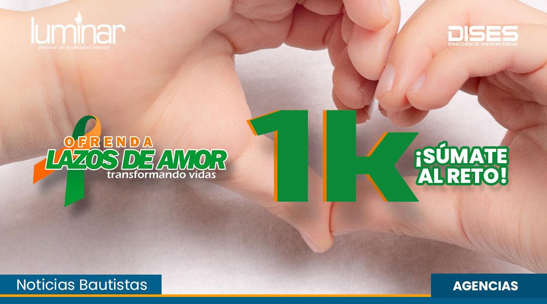 """LA OFRENDA """"LAZOS DE AMOR"""" PROPONE RECAUDAR 1K EN AGOSTO DEL 2021"""